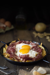 HUEVOS ROTOS PALETILLA (carmenmedinalopez) Tags: huevosrotos huevos jamón patatas