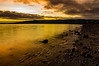 Golden Memories (Brian Still Travelling) Tags: pentaxkr scotland wemyss bay inverclyde firthofclyde water sunset sky golden gold coloursofscotland colours scenery scenic scottish scots scene landscape seascape serene serenity beautiful