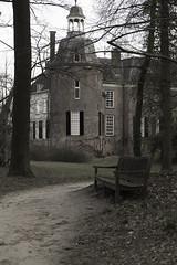 Castle Hackfort (Theo Bauhuis) Tags: achterhoek gelderland hackfort vorden landgoed nederland nl castle park bench bankje tower