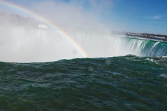 Niagara Falls Rainbow (xx397) Tags: rainbow lake water waterfalls waterfall niagara falls nature colorful ontario trip canada