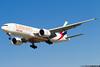 Emirates Boeing 777-F1H A6-EFE cn 35607 / 788 (Clément Alloing - CAphotography) Tags: emirates boeing 777f1h a6efe cn 35607 788 barcelona airport barcelone lebl bcn canon 100400 spotting aeropuerto airplane aircraft 25r 07l balcon t1 flight airways aeroplane engine sky ground take off landing 1d mark iv