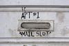 Apt #1 (skipmoore) Tags: neworleans mailslot