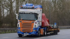 SW11 MSY (panmanstan) Tags: scania r730 wagon truck lorry commercial freight transport international haulage vehicle a63 everthorpe yorkshire