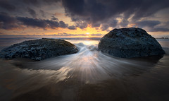 God's Thumb (AirHaake) Tags: evening eveninglight godsthumb goldenhour lincolncity ocean oregon oregoncoast seascape sunset unitedstates us