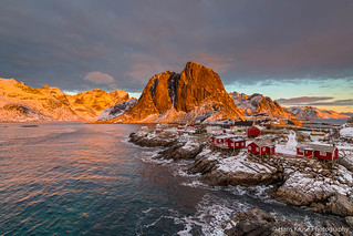 Sunset on Hamnøy