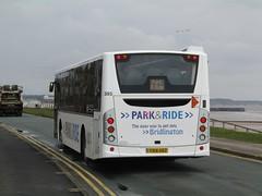 East Yorkshire 385 YX14HDZ 'Alan White' Belvedere Parade, Bridlington on P&R (1) (1280x960) (dearingbuspix) Tags: eyms eastyorkshire parkride 385 yx14hdz alanwhite