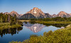 A Summer Morning - Explore (Ron Drew) Tags: nikon d800 grandtetonnationalpark wyoming wy usa summer oxbow snakeriver river water mountmoran jackson waterfowl birds reflection landscape outdoor trees morning nationalpark mountains glacier tranquil