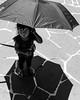 Candid Street Portrait (Frederik Trovatten) Tags: blackandwhite bnw black white candid portrait portraits kid girl umbrella noir mexico streetphotography street photography streets