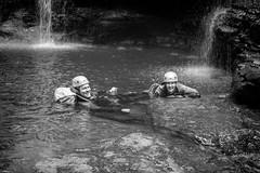 Geoff & Jenny (Eddy Summers) Tags: canyon canyoneering bluemountains empressfalls nsw australia pentaxk1 fa50mm rockpool wetsuits