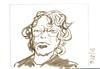 2018.03.10 3 SF JKPP Meetup: Jenny Sperry over skype (Julia L. Kay) Tags: juliakay julialkay julia kay artist artista artiste künstler art kunst peinture dessin arte woman female sanfrancisco san francisco sketch dibujo daily everyday face portraiture portrait party portraitparty 365 juliakaysportraitparty jkpp jkppfeed ink paper brush pen brushpen bw black white monochrome walnut