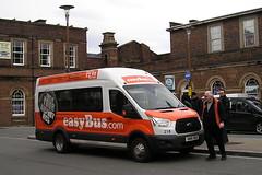 HN16 VEA (KK70088) Tags: bus britishbuses servicebus easybus chester fordtransit hn16vea