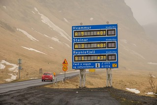 20180227 093 Iceland Vik road conditions sign