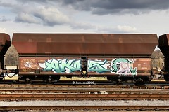 AKOS (rebecca2909) Tags: akos heavymetal freight train colors graffiti zug güterzug güter waggon