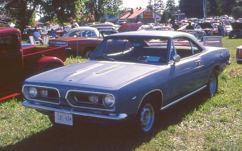 1967 Barracuda hardtop coupe - a photo on Flickriver