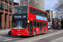 Abellio 2469 (SN64OET) Elephant & Castle 14th March 2018 (BristolRE2007) Tags: bus london londonbus abellio