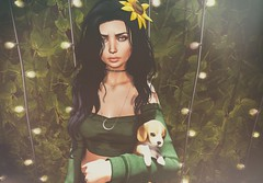 There's a light in the dark (Anika ♥ Catching up slowly) Tags: logo itgirls beusy cae kibitz halfdeer spirit tarte the arcade collab88 kustom9 skinfair skin fair 2018 mesh head secondlife sl