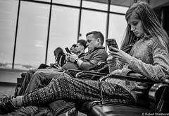 Alone, But Connected (Robert Streithorst) Tags: airport borg drones hivemind mono norwegianstar people robertstreithorst smartphones socialmedia youth