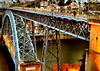 Il ponte delle luci arancioni (AlessandroDM) Tags: porto portogallo portugal