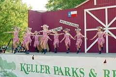 Dance Performance, Keller, 1995 (StevenM_61) Tags: dance dancing children girls costume stage 1990s 1995 keller texas performance recital