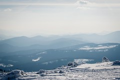 Magical view of Beskid Żywiecki (konradheine) Tags: mountains hills landscape forest snow nature naturephotography beskidy poland hiking outdoor