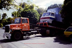 12 (kingsley foreman) Tags: trucking accident rollover wrecks semi trailer tractor longest driver truckers lorry haulage weapons lorries breakdown wagon highway freeway crash tow truck big rig smash motorway wrecker scania mack kenworth juggernaut transport freight freightliner peterbilt roadhouse stop extreme driving fire engine road train police ambulance ice show