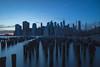 Manhattan Sunset (Photos By RM) Tags: newyorkcity longexposure brooklynbridgepark manhattan brooklyn nyc newyork leebigstopper ndfilter sky sunset night evening