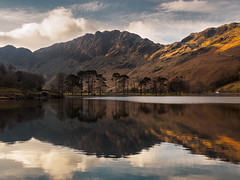 Buttermere morning reflection (Alf Branch) Tags: buttermere haystacks refelections reflection cumbria clouds cumbrialakedistrict calmwater westcumbria water winter wild mountains landscape lakes lakedistrict lake lakesdistrict alfbranch olympus omd olympusomdem5mkii zuiko zuiko1240mmf28pro