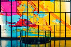 Sky Ellipse (Lú_) Tags: toronto subwaystation ttc architecture torontophotowalk stainedglass davidpearl