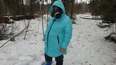 P4070531 (Axelweb) Tags: chubby bbw girl lady female rainwear raincoat pvc shiny wellies rubber boots gas mask plastenky holinky rainsuit rain suit plastic wellington gumboots galoshes gummi gasmask gloves winter