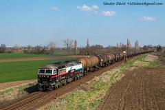 2018.04.08 | 659 001 | Börgönd (Davee91) Tags: floyd class56 british railways güterzug hungary tehervonat vonatok terelés börgönd székesfehérvár pusztaszabolcs oil train spring