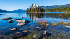 Lake Wenatchee (ValeTer_) Tags: reflection water nature lake wilderness mountain tarn tree sky rock nikon d7500 wenatchee usa wa washington state landscape lakewenatchee washingtonstate
