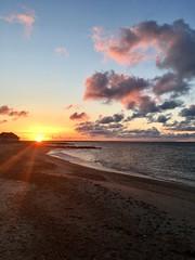 So Much Promise (Beach_Walker) Tags: ripofficergannon clouds beach peace eastfalmouth capecod sunrise