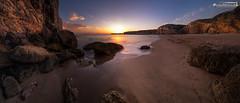 The sun goes down on Praia do Beliche (dieLeuchtturms) Tags: algarve bucht meer küste 21x9 sonnenuntergang steilküste atlantik strand panorama europa praiadobeliche portugal 235x100 7x3 europe beach cliff coast rockyshore sea shore sunset sagres faro pt