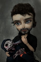 New doll - Taeyang Rick Grimes The Walking Dead (Loony-Doll) Tags: taeyang fc taeyangfc twd thewalkingdead rickgrimes rick custom custo doll dolls pullip makeup wig acryliques tsubasa zombie
