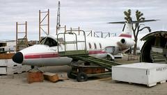 HFB320 | I-ITAL | El Mirage | 20040216 (Wally.H) Tags: hfb320 hamburger flugzeugbau hansajet iital aviationwarehouse elmirage
