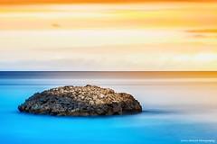 Ready for the Island? (Yarin Asanth) Tags: gerdkozikfotografie yarinasanthphotography sea ocean blue artistic longexposure mallorca island surface clouds minimalism colours color painting