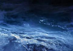 Poseidon's Wrath (E) (LUSEJA) Tags: luseja argentina canon parana powershot s5is entrerios ice hielo poseidón macro mondays theblues aqua navy indigo sapphire cyan azul led flashlight blueled tempest macromondays