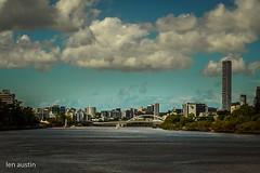 PERFECT DAY,BRISBANE CITY (len.austin) Tags: australia brisbane city landscape summer river