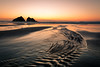 Holywell Bay again (Explored 27-03-18) (Dom Haughton) Tags: holywellbay beach sea seascape river leadingline sand cornwall kernow thechicks outdoor atlantic winter sunset bluehour evening poldark