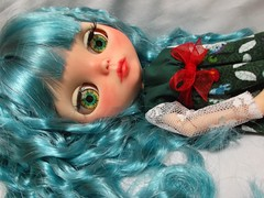my other new girl Juniper (Belladona Blythe and Friends) Tags: blythe icy doll handmade clothes customized by me