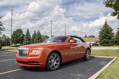 Rolls Royce Dawn (Hertj94 Photography) Tags: dawn rolls royce august 2017 canon t3 palatine illinois