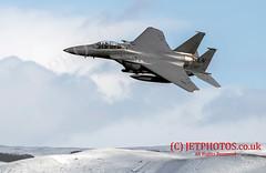 USAF F-15E Strike Eagle Low Level (JetPhotos.co.uk) Tags: 48thfw 48thfighterwing aviation bobsharplesphotography defence f15e fighter hills jetphotoscouk lfa7 lowflying lowflyingarea7 mountains raflakenheath roundabout snow snowdonia strikeeagle tactical usaf usafe valley valleys wales welsh aircraft training winter