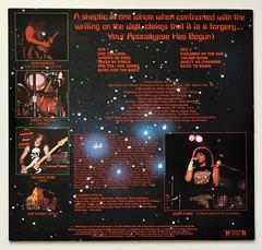 A0543 AGENT STEEL Skeptics Apocalypse (vinylmeister) Tags: vinylrecords albumcoverphotos heavymetal thrashmetal deathmetal blackmetal vinyl schallplatte disque gramophone album