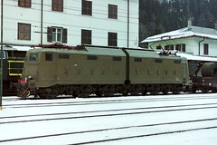 645.017 in the snow at Brennero 03-03-01 (Tin Wis Vin) Tags: locos railways fs italy brennero brenner e645