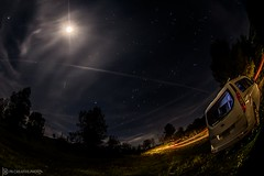 Late Night at the Office (philbeckman56) Tags: keyesville lakeisabella california canon longexposure astrophotography stars moon sky night