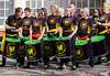 P2060755 (the1lemming) Tags: samba espirito band music live members musicians lancaster ashton memorial williamson park drims drumming drummer stick dance face paint brazil brazilian influence