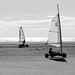 Sailkarts on Rindby beach on Fanoe