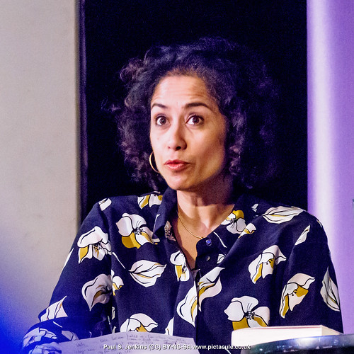 P3071202 Samira Ahmed - Humanists UK 2018 Franklin Lecture at the Camden Centre, London