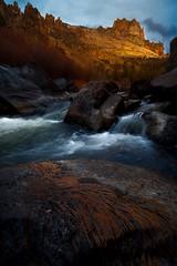 Smith Rock Evening (AirHaake) Tags: smithrockstatepark smithrock evening stream water river foreground rocks mountain