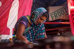 India 2017-31-3 (anuradhadeacon-varma) Tags: kitchen foodprep cafe indianwoman indiancafé madhyapradesh 2017 india jabalpur india2017